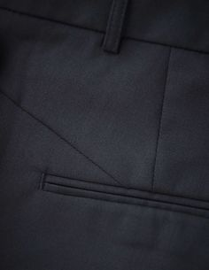 Yulia trousers - Women's trousers in wool-stretch. Features two back paspoil pockets, two front pockets and cutlines at back. Regular waist with straight leg. For a complete suit look wear it with Emika blazer Women's Trousers, Trousers Women, Tiger Of Sweden, Pockets, Blazer, Legs, Wool, Suits, How To Wear