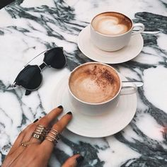 ~coffee~ this would be nice enjoy a cup of cappuccino at a cafe. But First Coffee, I Love Coffee, Coffee Break, My Coffee, Coffee Drinks, Morning Coffee, Coffee Cups, Cappuccino Coffee, Coffee Plant