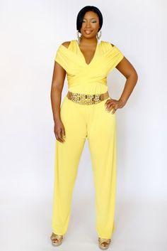 Original  Jumpsuits For Curvy Girl  Plus Size Jumpsuits Jumpsuit Shopping Women