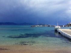 A stormy day on Agistri Greek Islands, Travel Guide, Greece, Heart, Day, Places, Greek Isles, Greece Country, Travel Guide Books