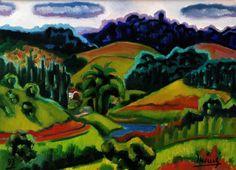 Inimá de Paula Paisagem Esmeralda - ost 1993 - 45 x 61
