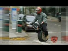 The One-Wheeled Motorcycle [VIDEO]