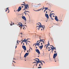Mini Rodini jurk Heron koop online www.MiniRepublic.nl