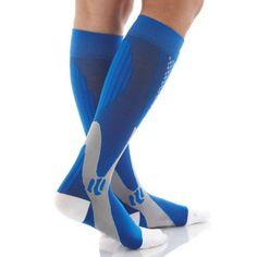 Men Women Leg Support Stretch Outdoor Sports Socks Knee High Compression Socks Running Snowboard Long Socks Stockings