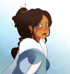 Katara as Disney Princess  (Avatar: the Last Airbender)