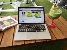 Enjoying Sunday morning working on our patio with a super mixed fruit and kale juice on the side!  Have a great day everyone :-)