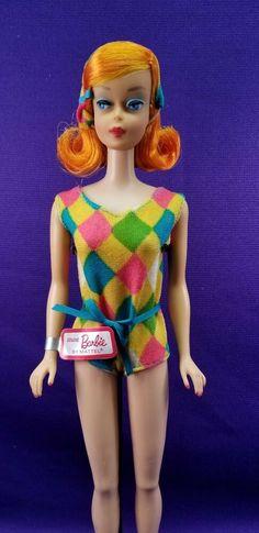 Vintage Barbie Doll Body American Girl Midge Color Magic Miss Barbie Vintage Ponytail, Barbie Gowns, Barbie Movies, Color Magic, Dolls For Sale, Printed Denim, Vintage Barbie Dolls, Barbie Collection, Barbie And Ken