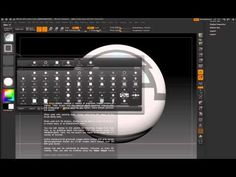 ZBrush 4 - Circle and Square Masks