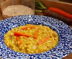 Persian Barley Soup - Soup e Jo or Ash e Jo