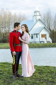When Calls the Heart - Daniel Lissing and Erin Krakow as Jack Thornton and Elizabeth Thatcher Elizabeth Thatcher, Jack And Elizabeth, Smallville, Jane Austen, Reign, Heart Facts, Outlander, Janette Oke, Jack Thornton