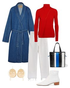 """""""2/365 V"""" by deborarosa ❤ liked on Polyvore featuring Balenciaga, Rachel Comey, The Row and J.W. Anderson"""