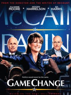Game Change. HBO is running Game Change again, Sarah #Palin is doing her best to 'refudiate'. She watches things like wedding plans and reality TV, someone must have told her the #HBO #movie starring Julianne Moore is on. Palin claims she won't watch Game Change. It was a huge hit 5 years ago.  http://politicalgates.blogspot.com/2013/07/sarah-palin-tries-to-rewrite-history.html