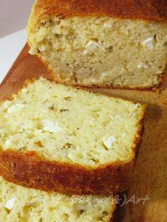 Ψωμί με φέτα & αρωματικά βότανα / Feta Cheese & Herb Loaf - Cooking & Art by Marion