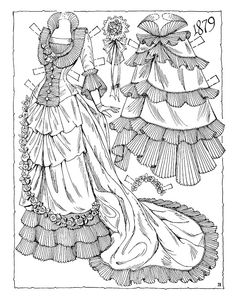 Victorian Brides Paper Dolls by Charles Ventura - Nena bonecas de papel - Picasa Web Albums