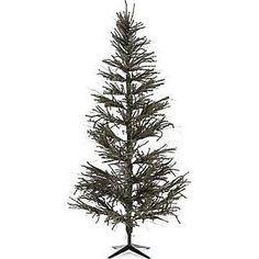 Vickerman 6' Vienna Twig Green Slim Artificial Christmas Tree