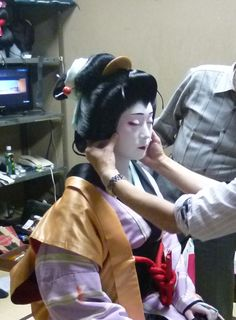 kabuki make-up