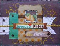 Happy Father's Day Card by design team member Drea using Herbs & Honey I Want It All Bundle by Basic Grey found at fotobella.com