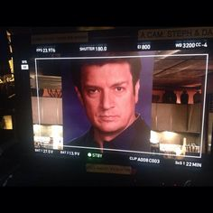 #Castle BTS 11:  Things are getting serious on Castle's Finale.