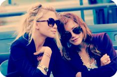 the olsens. of course!