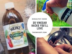 Vinegar Cleaning Hacks For Your Home Watch The Video