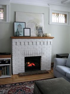 Characteristics Of Craftsman Architecture Brick Fireplace