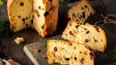 Italská panettone Panettone Receta, Flan, Banana Bread, Muffin, Low Carb, Meals, Breakfast, Desserts, Fruit Tea