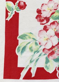 Vintage floral Tablecloth, I have this one.