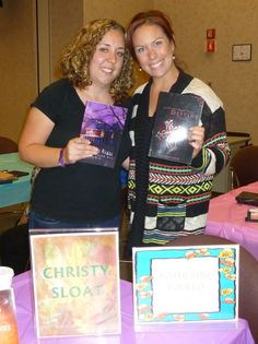 Authors Christy Sloat and Katherine Polillo