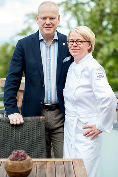 Chris Brigitte und Andreas Hegmann - Restaurant H'manns in Neuleiningen