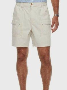 2506dd0605 Cargo Shorts Side Elastic XL Mens 42