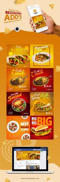 Social Media Restaurant Food Add's