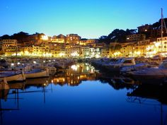 Port De Soller, Mallorca,Spain--only got to spend about an hour there, not nearly enough time, need to return for a real vacation