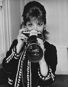 GINA LOLLOBRIGIDA - Vintage 1967 of Actress with NIKON Camera | eBay