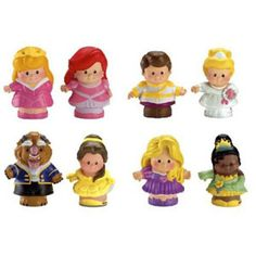 Little People Disney Princess Figure 2-Packs