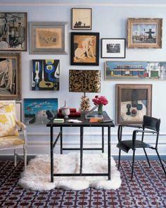 Manhattan apartment designed by Jonathan Adler.