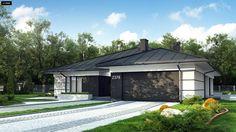 Home Building Design, Home Garden Design, Building A House, House Plans Mansion, 4 Bedroom House Plans, Mediterranean Homes, Facade House, Design Case, Modern House Design
