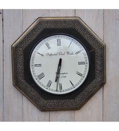 Stylowy #zegar ścienny w eleganckiej ramie. Model: HM-146 @ 210 zł. Zamówienie online: http://goo.gl/xbO002
