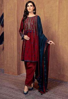 Pakistani Fashion Casual, Pakistani Dresses Casual, Suit Shirts, Linen Suit, Shoes World, Embroidery Dress, Summer Collection, Kimono Top, Sari