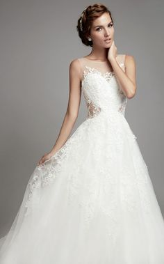 Featured Dress: Rico-A-Mona Bridal; Wedding dress idea.