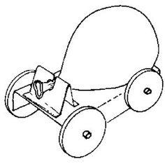 Ballonwagen die zelf rijd -- categorie: Spellen