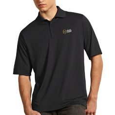 College Football Playoff Antigua Exceed Polo – Charcoal - $49.99