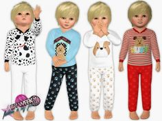 Puppy outfit for toddler boys by Weeky - Sims 3 Downloads CC Caboodle