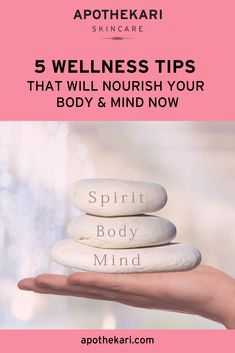 These 5 wellness tips will help to nourish your mind & body as we navigate the uncertainty and stress that comes with living through Skincare Blog, Best Skincare Products, Kindness Matters, Clean Beauty, Wellness Tips, Eating Well, Feel Better, Skin Care Tips, Healthy Lifestyle