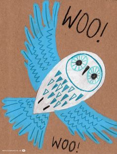 owl illustration by Matt Johnson