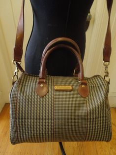 ce433b230e85 Vintage Polo Ralph Lauren Houndstooth Plaid -- I am told that houndstooth  plaid is a