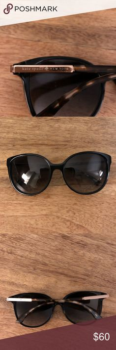 Black Kate Spade Cat-eye Sunglasses Classic Cat-eye Sunglasses flattering on any face shape! kate spade Accessories Sunglasses