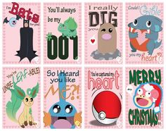 A HUGE Variety of Pokemon Valentine's Day Cards
