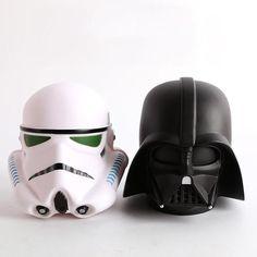 14cm Star Wars Darth Vader Stormtrooper BB8 Cute Coin Bank Piggy Bank Money Saving Box Money box Figure Box Toy For Kids Gift