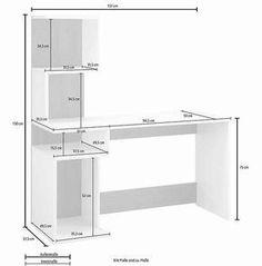 Living Room Tv Cabinet, Ikea Living Room, Living Rooms, Computer Desk With Shelves, Desk Shelves, Home Office Setup, Home Office Desks, Home Furniture, Furniture Design