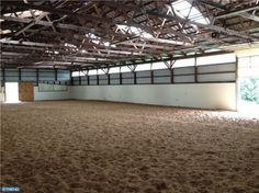 Riding arena. I wouldnt mind one of these!